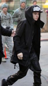 ジャスティンビーバー ファッション 冬 画像